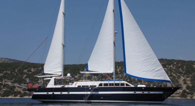 Motor Sailer Mediterranean Sea for charter
