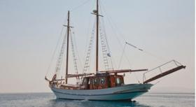 Motor Sailer Eleftheria for charter