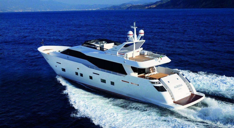 Yacht Aurora for Charter