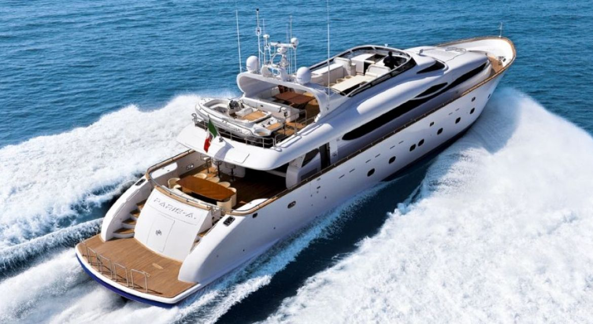 Motor Yacht Paris A for charter