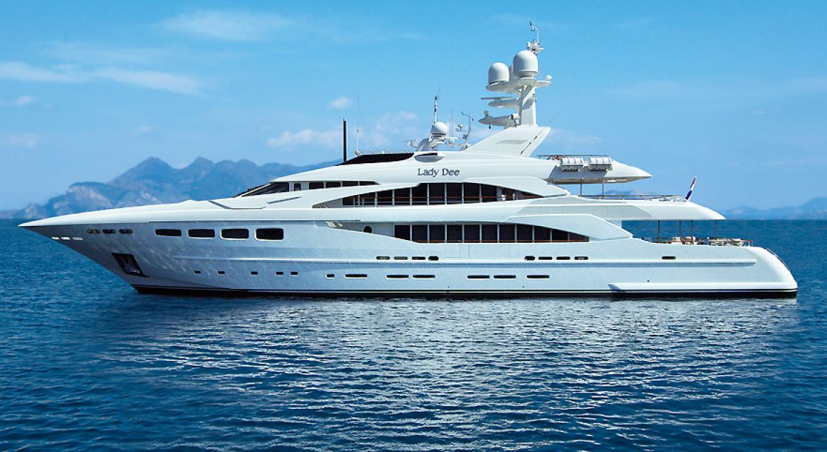 Motor Yacht Lady Dee for charter