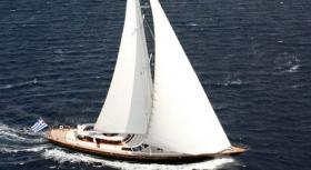 Sailing Yacht Gitana for charter