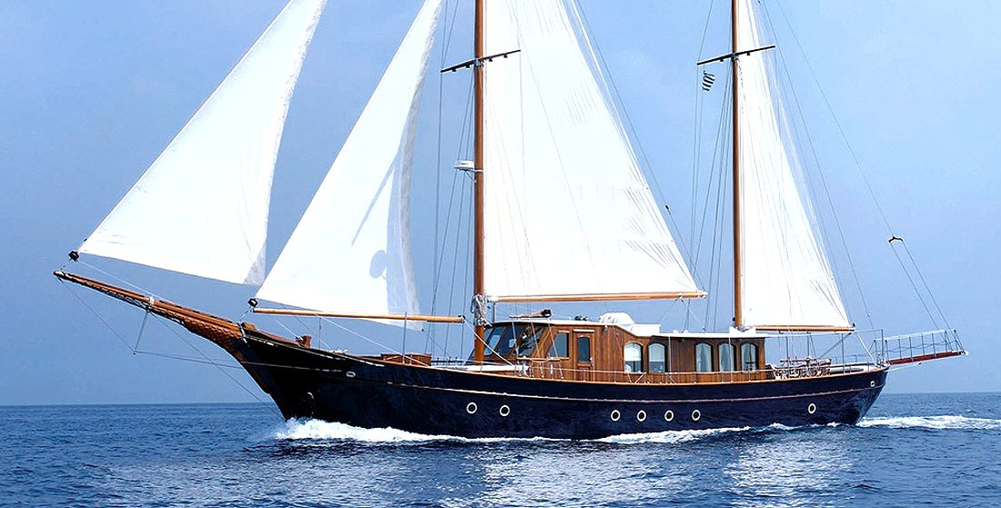 Motor Sailer Liana H Available In Mykonos On 23rd July