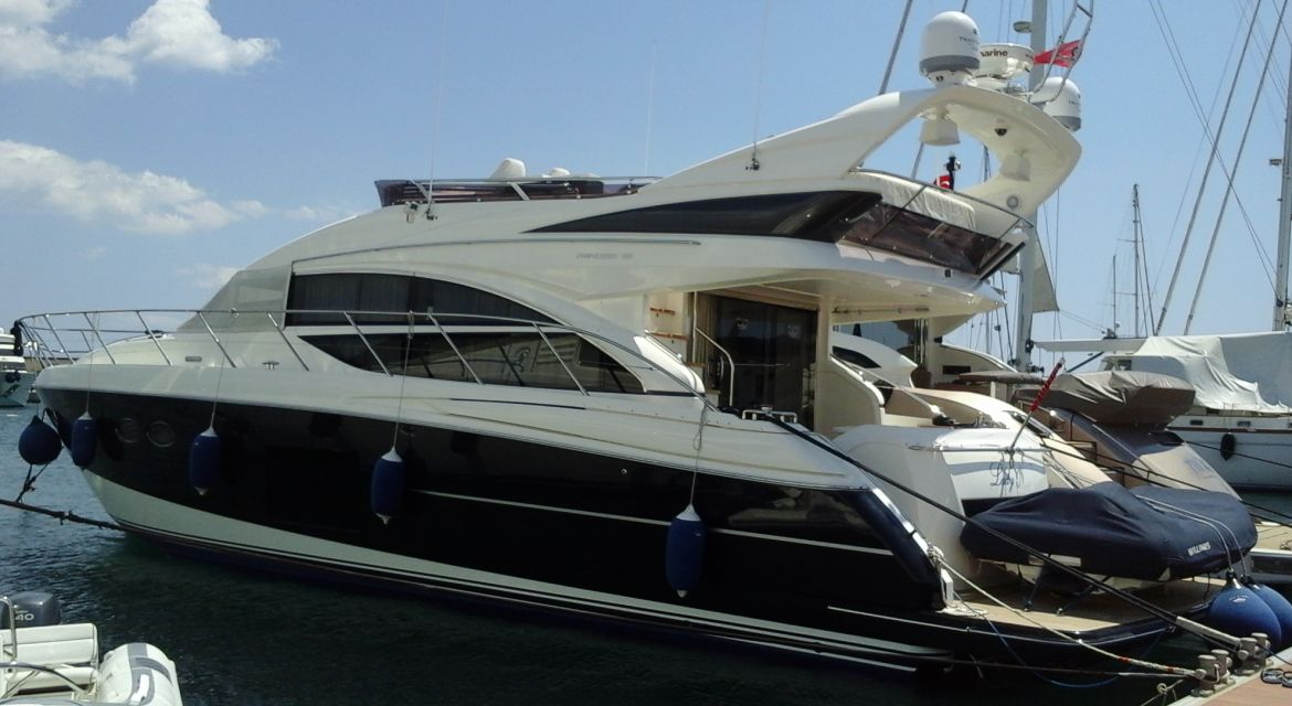 Yacht Princess 56 for sale - by yachtingalliance.com