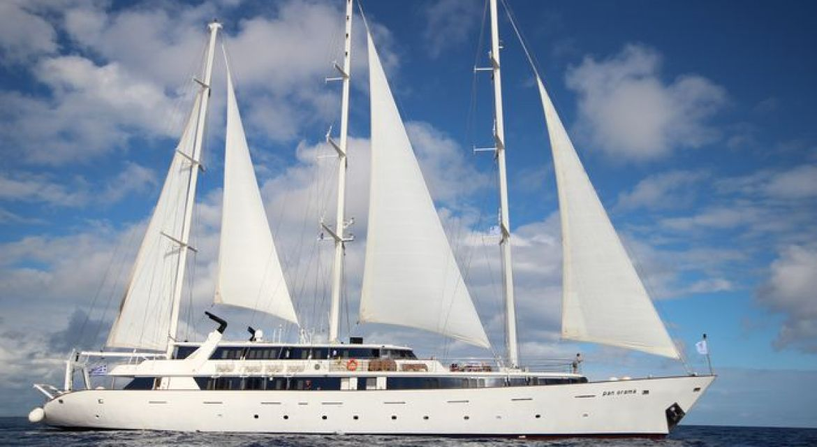 Motor Sailer yacht Panorama for charter