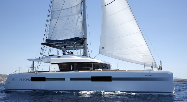 Sailing Catamaran yacht Lucky Clover for charter