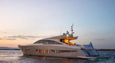Motor Yacht yacht Sun Anemos for charter