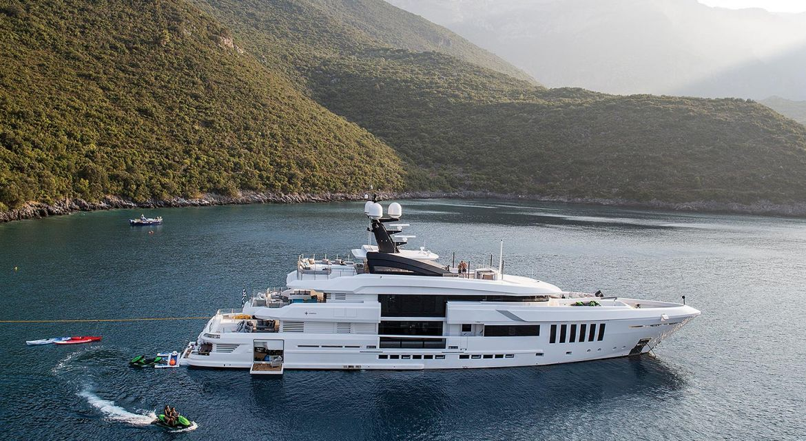 yacht Ouranos for charter