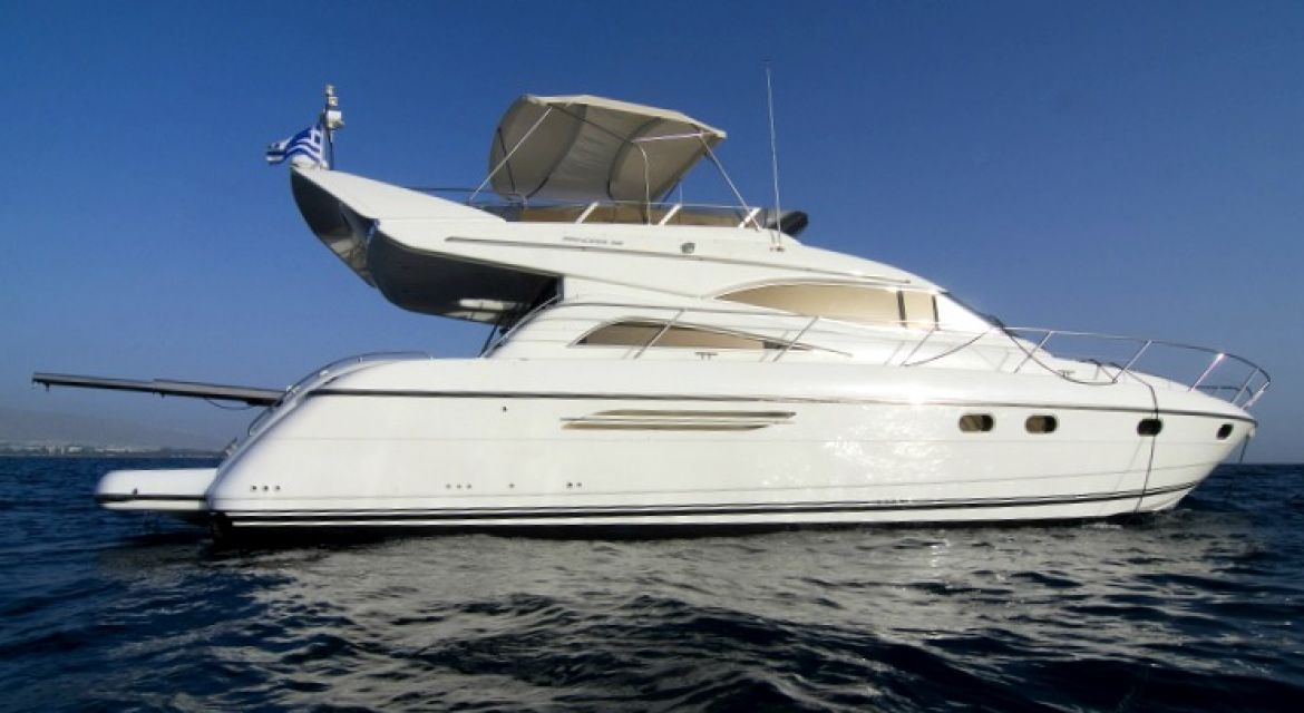 Yacht Princess 56 white hull for sale - by yachtingalliance.com