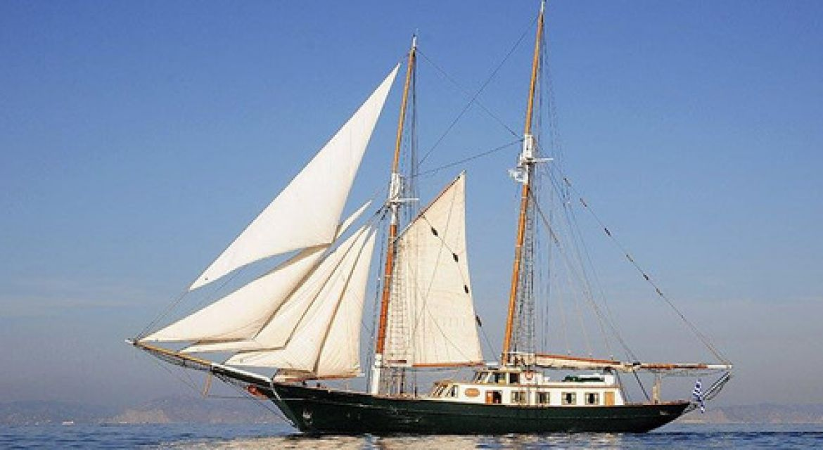 Motor Sailer yacht Arktos for charter